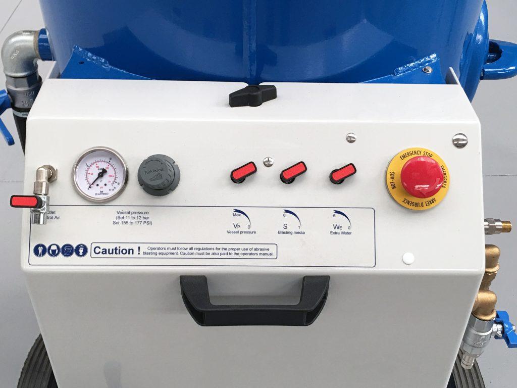 Panel de control Aquastorm