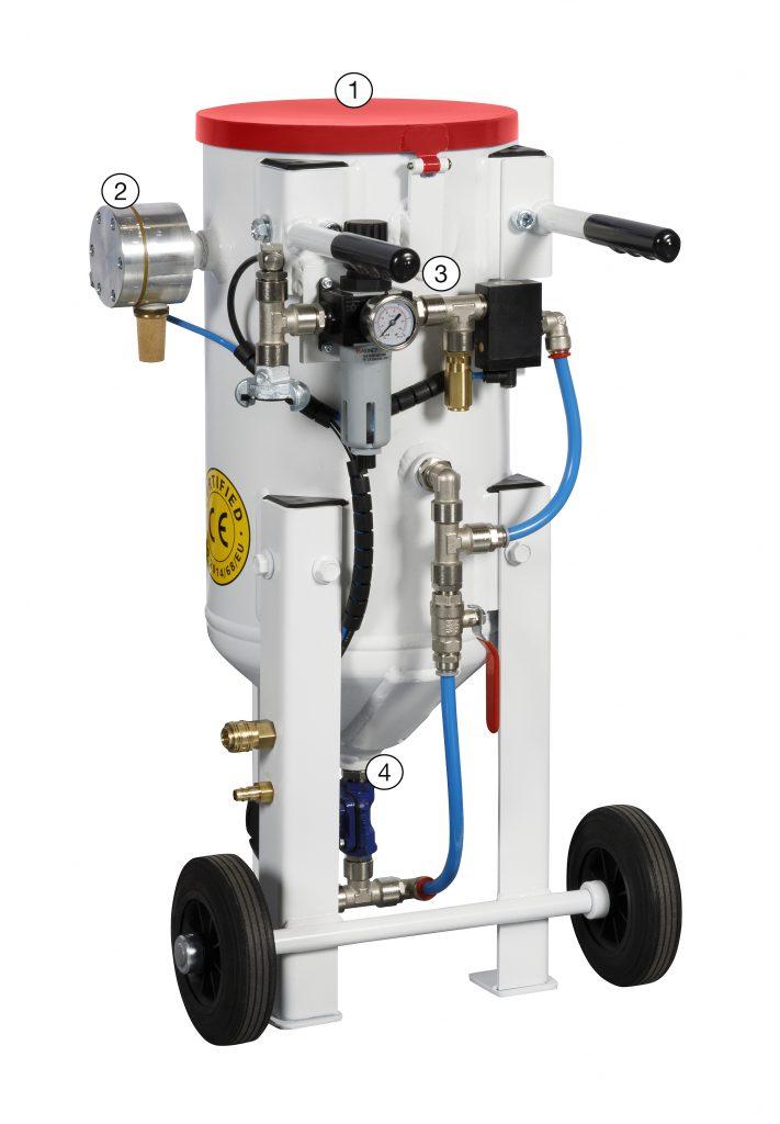 maquina de chorreado MiniPro Basic